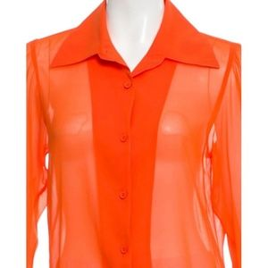 Alice + Olivia Silk Top. Size: S